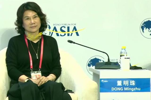 董明珠:改革开放40年让世界知道了中国人的优秀