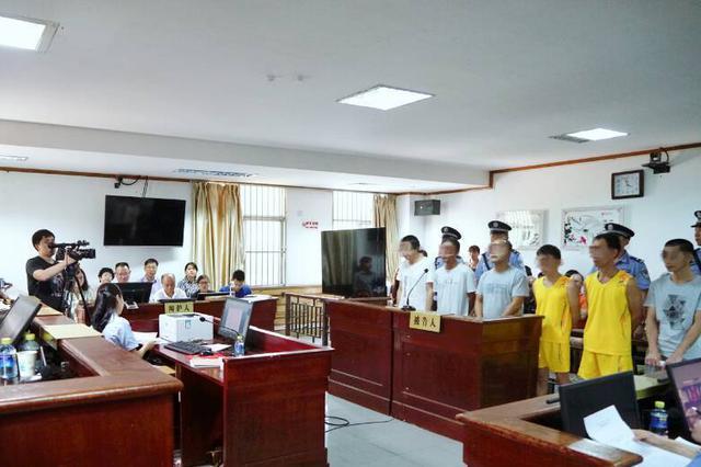 恶意阻挠项目施工 海口龙华法院开庭审理6人涉恶案