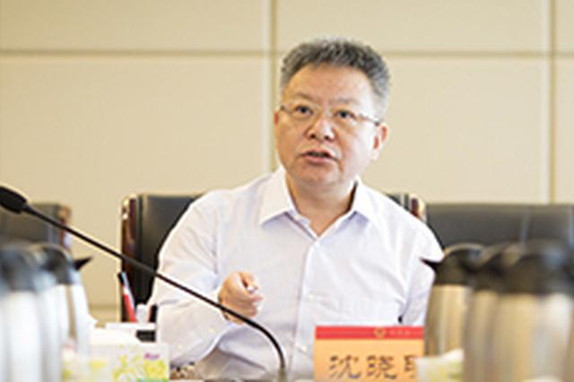 """沈晓明:省政府既要当好""""指挥员""""更要当好""""战斗员"""""""