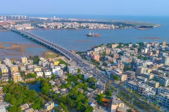 """海口江东新区将打造半城都市半城绿的""""江东模式"""""""