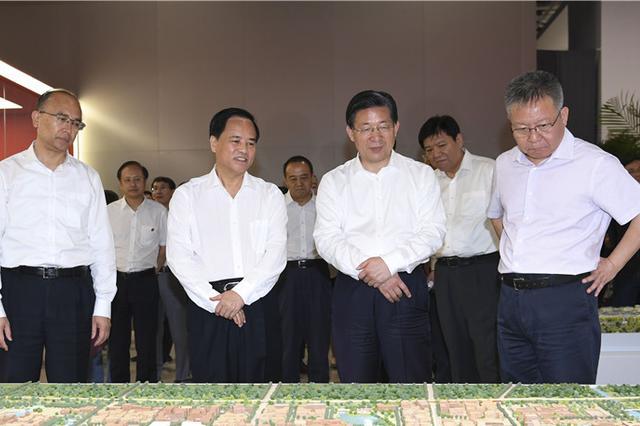 海南省党政代表团赴京津冀学习考察 首站抵雄安新区