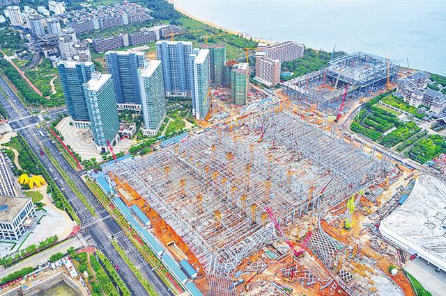 海南国际会展中心二期 打造绿色智能会展场馆
