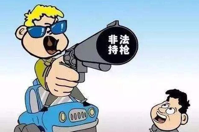 昌江:男子捡到枪支藏于家中 被判处非法持有枪支罪
