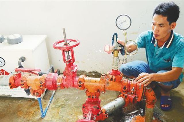 让村民喝上自来水 澄迈1.04亿元实施饮水安全工程