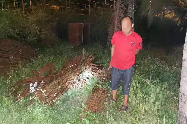 三亚警方依托猫鼠同步巡查破获盗窃 市政工程钢筋案件并取缔非法废品收购站
