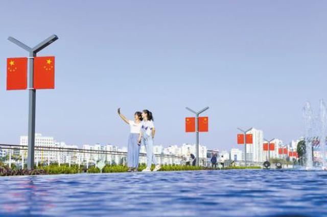 海口一座全新大型滨海城市休闲公园已露雏形
