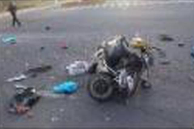 事发海口!货车电动车在人行横道相撞致电动车驾驶员身亡
