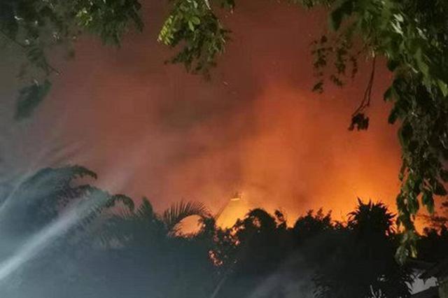 花卉大世界景区火灾事故敲警钟 海口启动全市火灾隐患排查