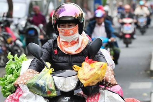 海南6市县最低气温将降至10摄氏度及以下