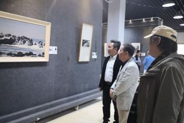 首届广州美院海南校友美术作品展展出百幅作品