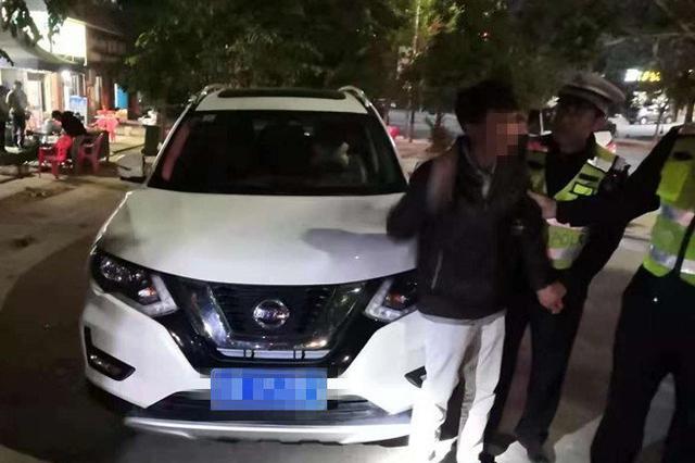 """东方交警一晚逮29只""""醉猫"""" 查处73起交通违法行为"""