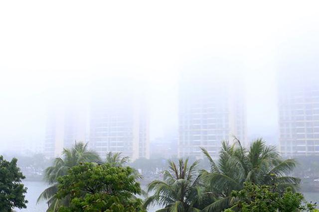 海南本周中期有雾 琼州海峡雾时通航气象条件较差