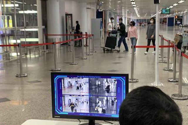 海口美兰国际机场 安装自动体温检测系统