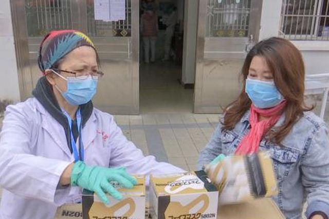 海口一市民自费购买口罩赠医院、朋友和街坊邻居