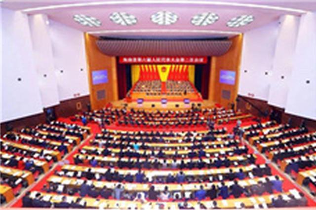 海南省六届人大常委会第十九次会议召开