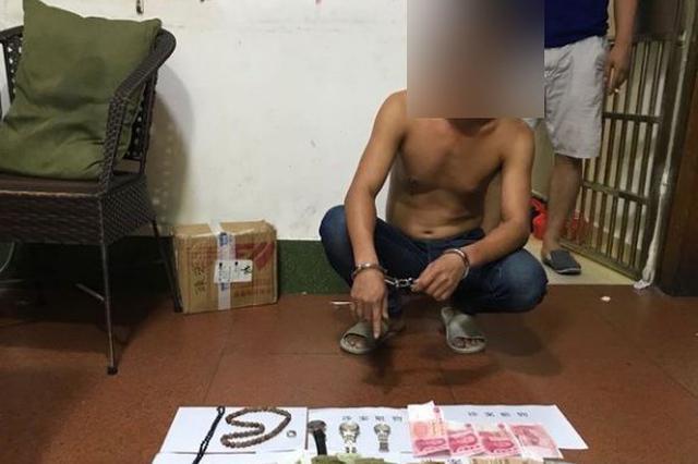 """入室盗窃19起 涉案金额9万余元 三亚这俩""""大盗""""栽了"""