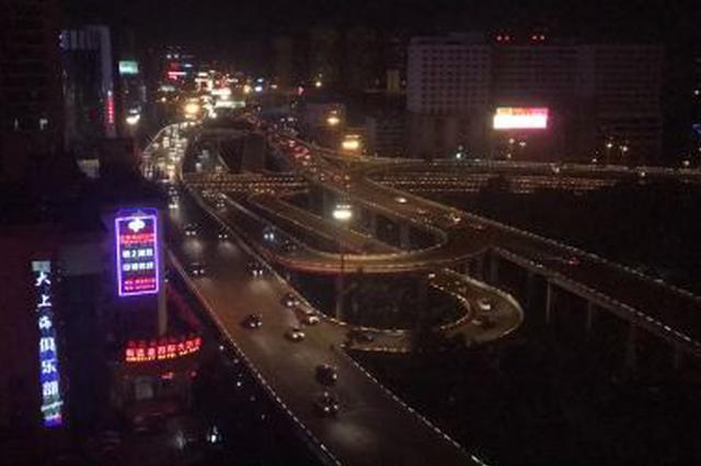 注意!海口南大立交桥12日起夜间将分时段封闭检测