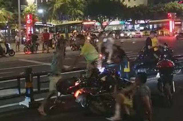 一言不合就开打!海口警方通报东湖斗殴事件:2人被刑拘