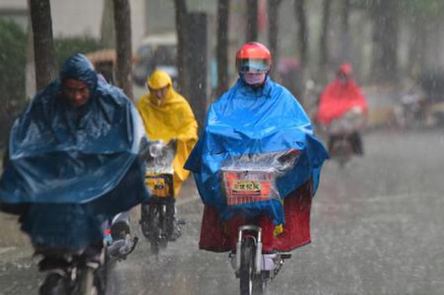 7月30日至8月3日全省70个乡镇雨量超100毫米