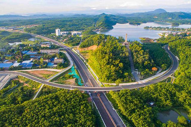 陵水文黎大道延伸线尖岭段下月将实现功能性通车