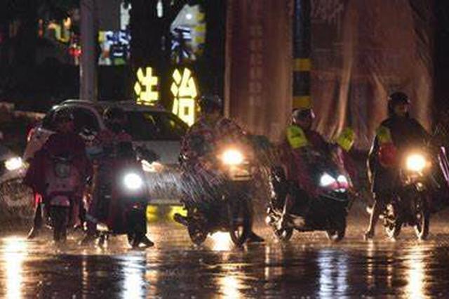 """受""""浪卡""""影响 海南16市县114乡镇降雨量超50毫米"""