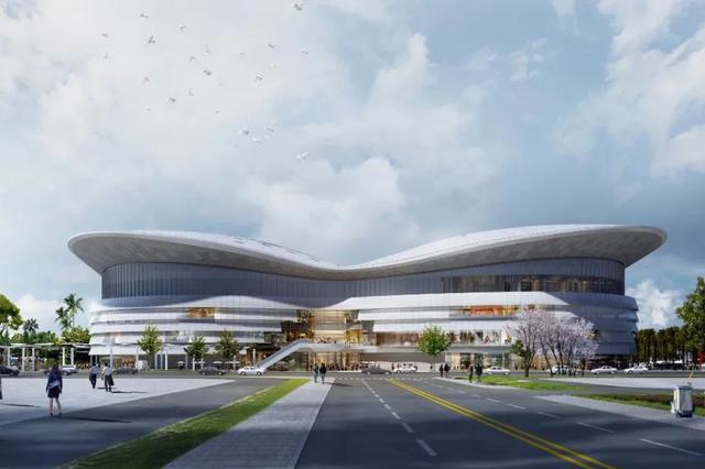 海口国际免税城项目免税商业中心地下结构施工完成