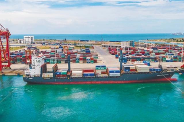 洋浦国际集装箱码头吞吐量连攀升 枢纽港越联越广