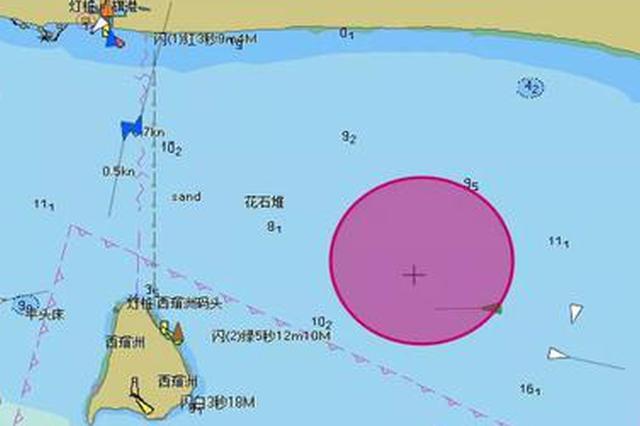 11月29日海上过往船舶禁止进入三亚这个赛事区域