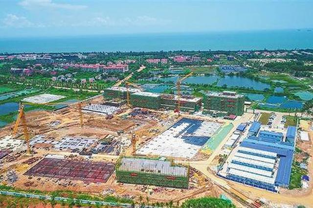 海口江东新区将打造岛内首个1.5级企业港项目