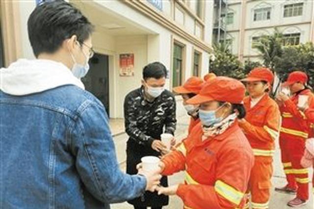 海口总工会今年将建户外劳动者爱心服务站点