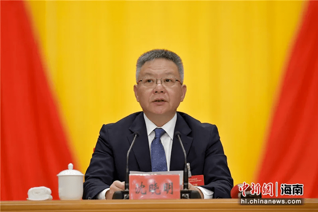 """省委书记沈晓明强调,要把这件事作为海南的""""国之大者"""""""