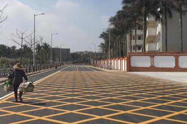 海口国兴中学南门规划路及周边路网(北门)已完工