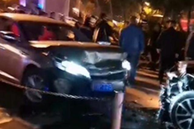 一男子醉驾逆行连撞两车 被撞车辆司机无生命危险