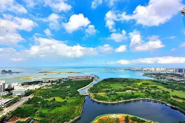 2020年海南市县环境空气质量五指山乐东保亭列前三