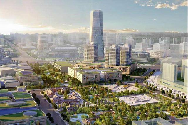 三亞CBD社會投資近八成 19個總部經濟項目開工建設