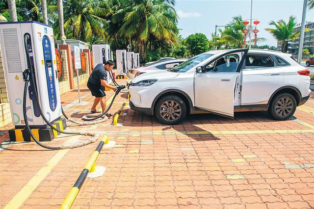 海南提速建设充电桩站 预计全年用电量同比增长50%