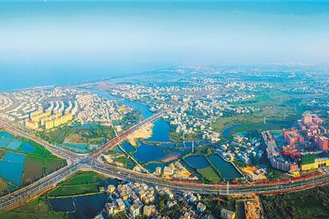 海口江东新区一路网项目开建 3条道路总投资超亿元