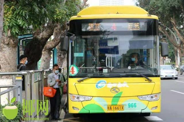 今起,海口所有公交线路恢复正常运营