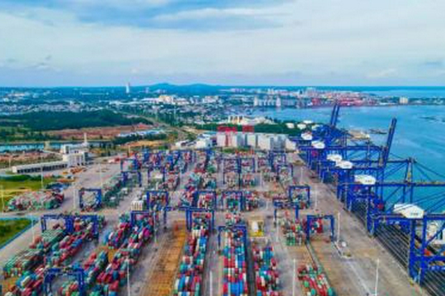 海南洋浦港前三季度集装箱吞吐量超97万标准箱