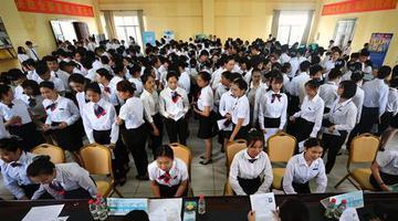 海南中职教育实现跨越式发展