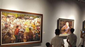 周铁利油画作品展 讲述海南三十年变化发展