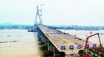 海南铺前大桥建设提速 主桥预计9月合龙