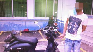 警方抓获两名盗贼他们骑电动车作案……