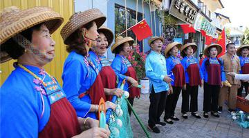 三亚海棠湾庙会开幕