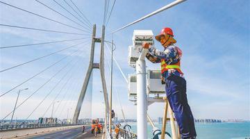 洋浦大桥亮化改造