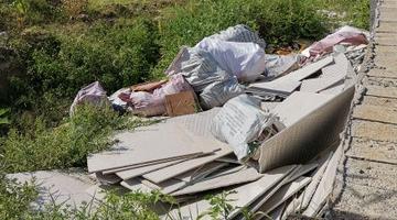 海口整治建筑垃圾管理乱象行动