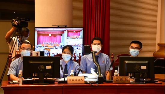 【新冠肺炎】海口首例!野生动物保护资源领域公益诉讼案昨日开审