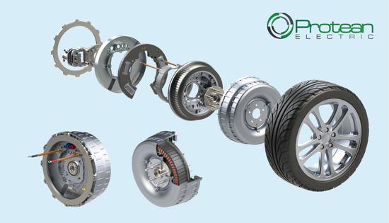 Protean轮毂电机产品