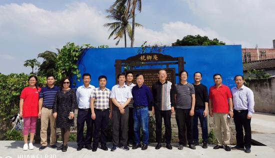 中国苏轼研究学会组织专家学者赴儋州考察东坡居儋历史文化资源