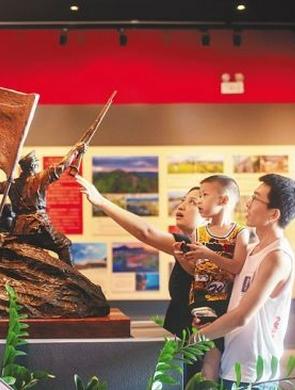 琼海:建军节 学党史